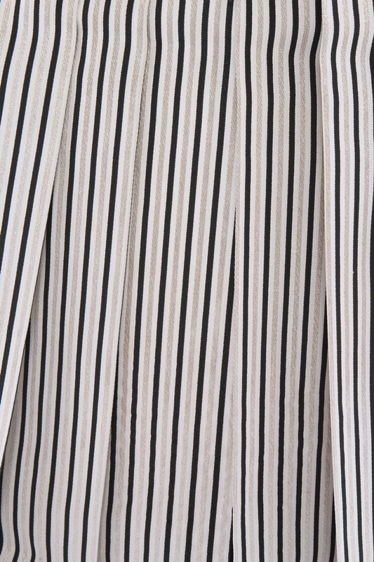 紋付袴292/シルバー/白シルバー裾黒縞ぼかし