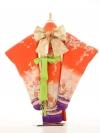 753レンタル(7歳女)7122織姫13赤紫裾たんざ