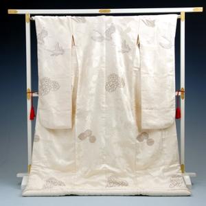 白無垢レンタル 859金糸花車と鶴