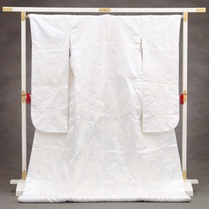 白無垢レンタル 987白交織亀甲花鶴