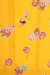 小紋28黄色地に鈴