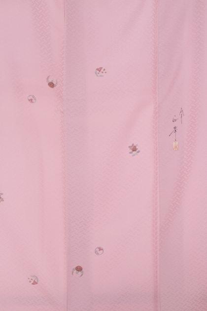 小紋1ピンクさや型