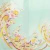 色留袖レンタル640若苗色花のし