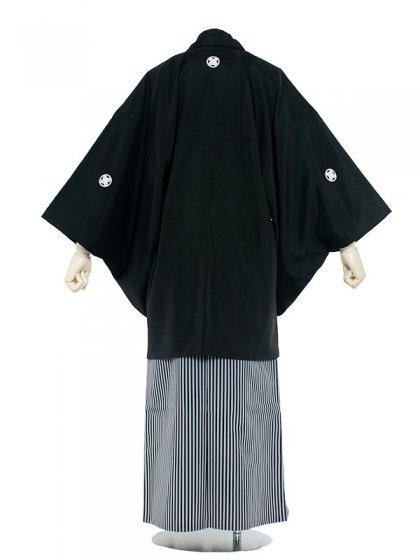 男性用袴 紋服7号定番黒紋付/7000