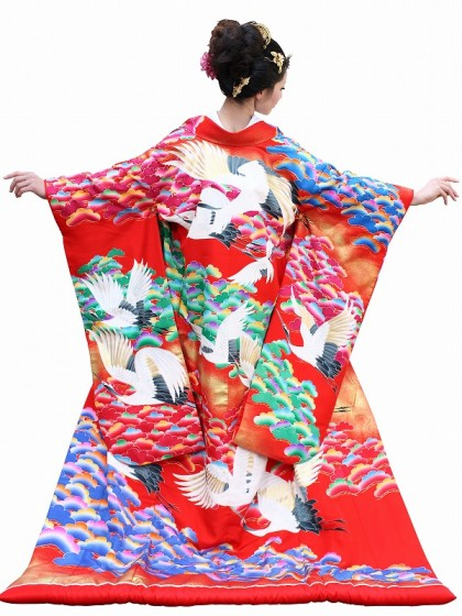 色打掛レンタル121京友禅 加賀の松