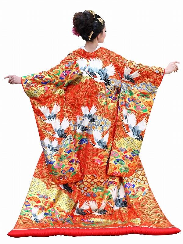 色打掛レンタル114京友禅 都雲の舞