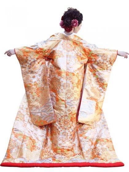 色打掛レンタル101川島織物 喜寿蜀甲文