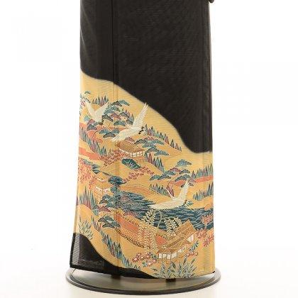 夏黒留袖tcrl025京景色