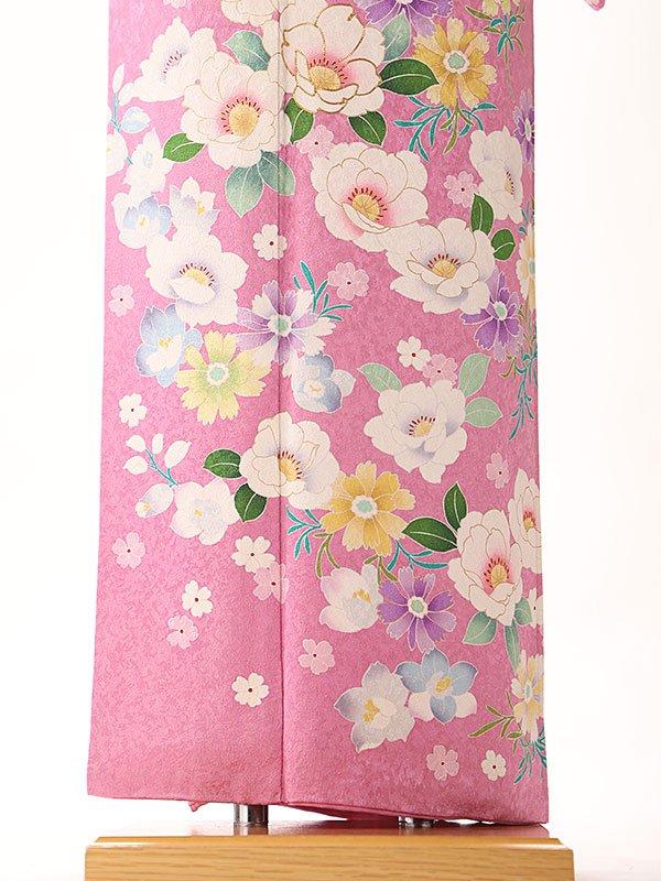訪問着 ピンク 四季の華桜  6219