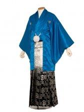 男性用袴 紋服7号 ブルー/7N10