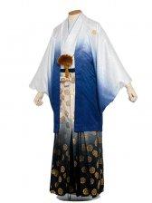 男性用袴 6号白紺ぼかし/6H20