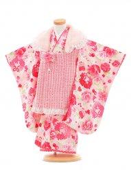 753レンタル(3歳女被布)0395松田聖子ツイード