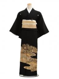 黒留袖レンタル6065金老松
