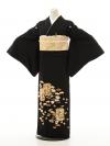 黒留袖Q4-77手刺繍貝桶