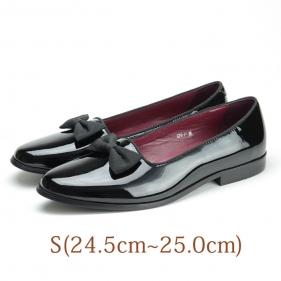 24.5 VISARUNO ブラック 牛革