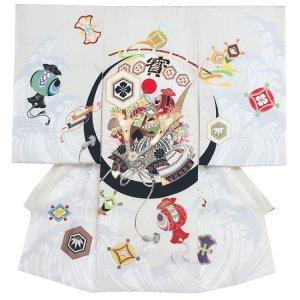 お宮参り男の子2102 白 /ジャパンスタイル