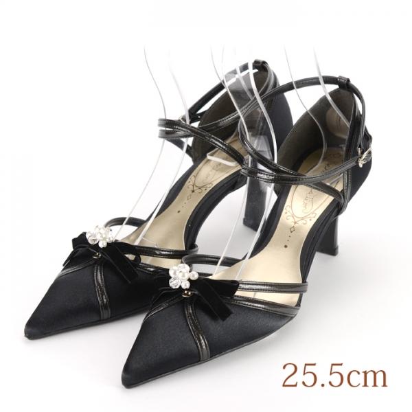 25.5 sophiacollection 7.5cmヒール ブラック