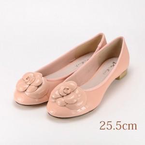 25.5 東京梨庵 ピンク 1.5cmヒール