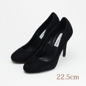 22.5 STEVE MADDEN 9cmヒール 黒