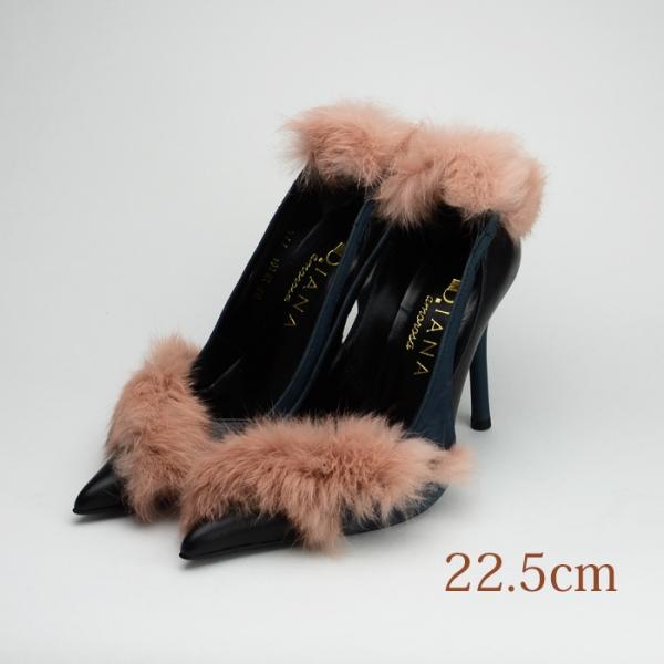 22.5 DIANA 10.5cmヒール ブラック
