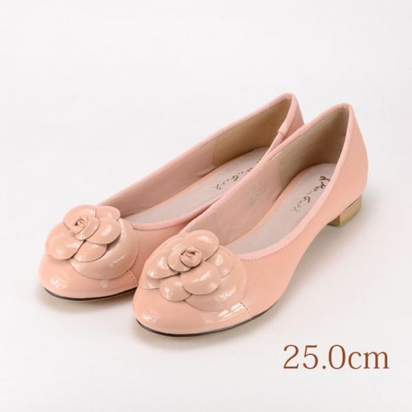 25.0 東京梨庵 ピンク 1.5cmヒール