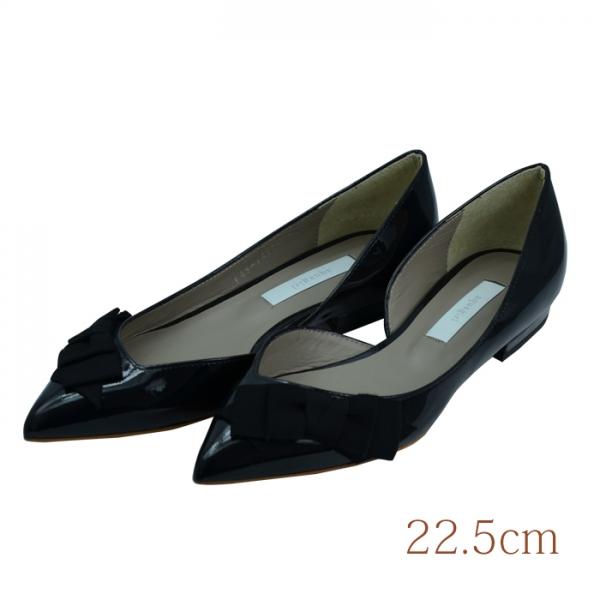 22.5 aquagirl shoes 1.5cmヒール シルバーブラック