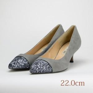 22.0 elegance himiko 5cmヒール グレー