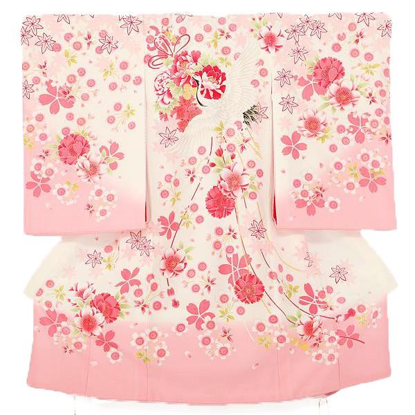 【乙葉】産着女児桜鶴0013