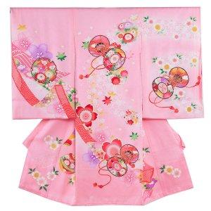 お宮参り女の子171 ピンク /花つつみ
