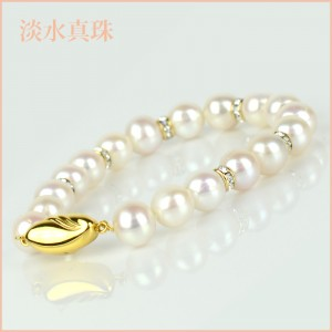 ブレスレット 淡水真珠(8-8.5mm 1連) 002