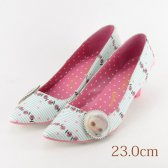 23.0 Irregular Choice ホワイト 5cmヒール