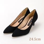 24.5 MAMIAN ブラック 5.5cmヒール