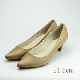 21.5 JOHNNY MOKE 5.5cmヒール ベージュ