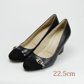 22.5 easy spirit 7cmヒール 黒