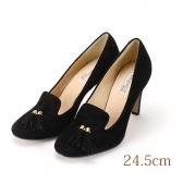 24.5 elegance卑弥呼 ブラック 8.5cmヒール