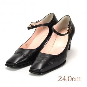 24.0 黒 本皮 REGAL Tailored 6.0cmヒール