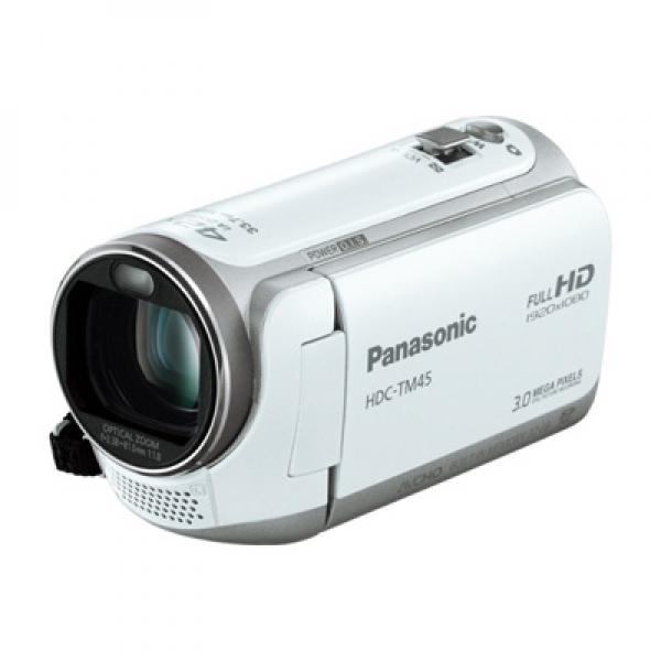 ビデオカメラ パナソニック HDC-TM45-Wホワイト