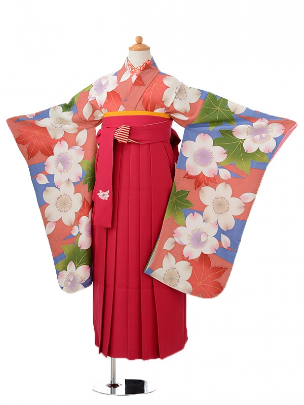 小学生卒業式袴(女の子)レンタルjh0925ブ