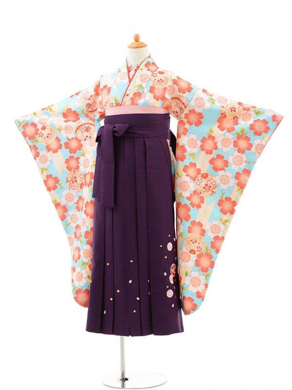 小学生卒業式袴(女の子)レンタルjh0943小