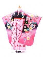 ジュニア(女の子袴)レンタル0741Seikomatsudaピン