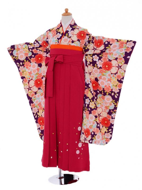 小学生卒業式袴(女の子)レンタルjh0917水