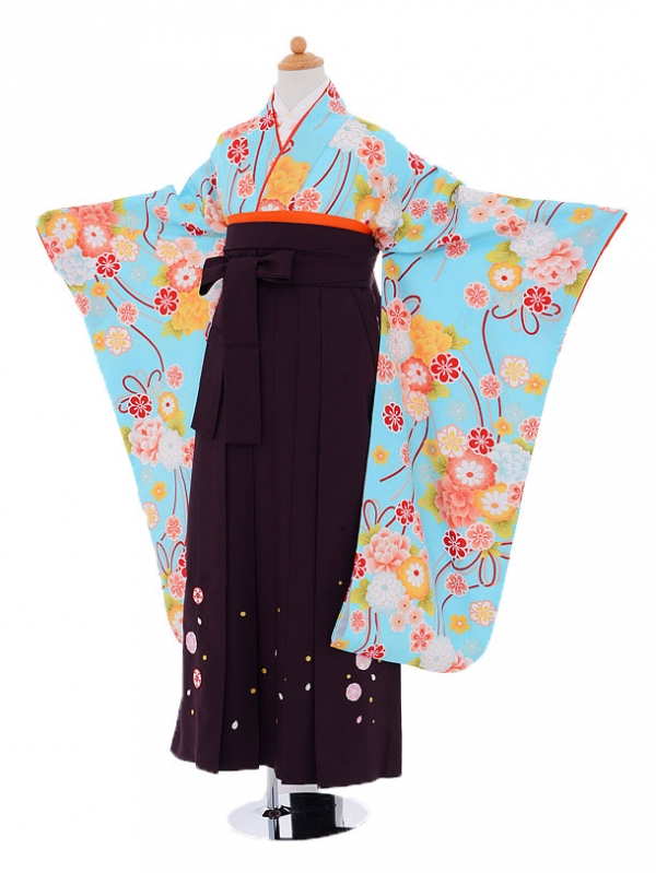 小学生卒業式袴(女の子)レンタルjh0918水