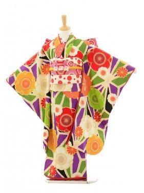 七五三(7歳女結び帯)7146 Lakokura 古典花