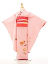 七五三(7歳女袋帯)7151 本絞り ピンク(正絹)