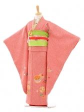 七五三(7歳女袋帯)7189 総絞り 赤(正絹)