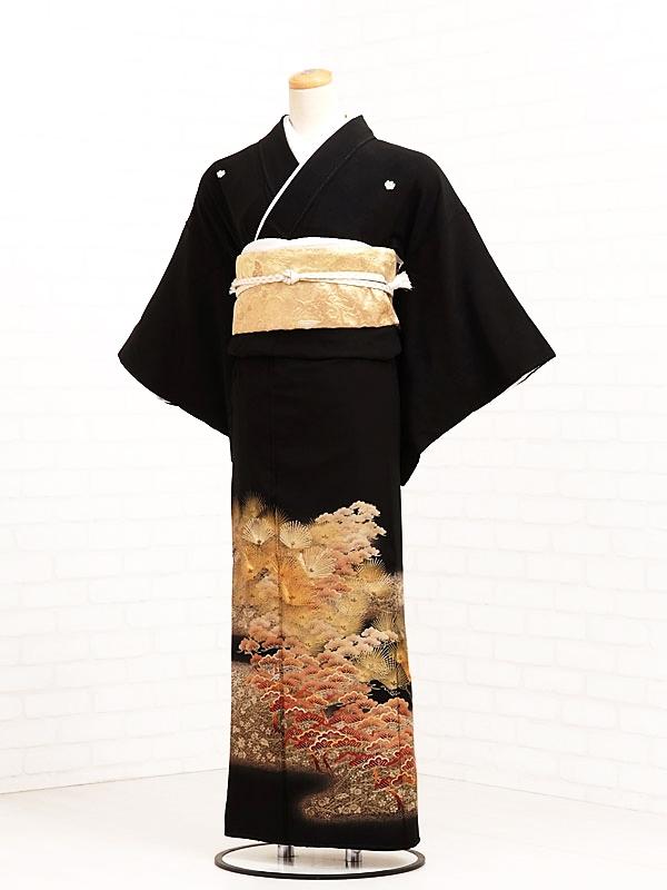 黒留袖レンタル6040金松くずし