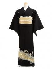 黒留袖レンタルC6012金松梅