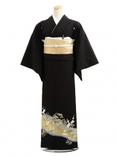 黒留袖C6012金松梅