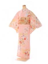 訪問着 華雅桜シリーズ ピンク 6216