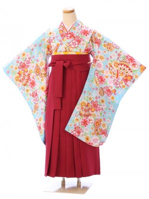卒業式小学生女の子袴セット GR-016